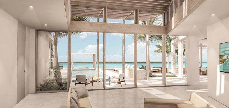 Y House Design, Turks and Caicos Real Estate villa sales