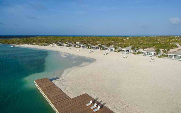 The Beach at Ambergris Cay