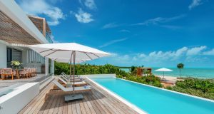 Pool at Beach Enclave Turks and Caicos