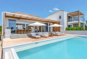 Luxury villas at Beach Enclave Turks and Caicos