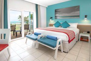 Bedroom at Club Med