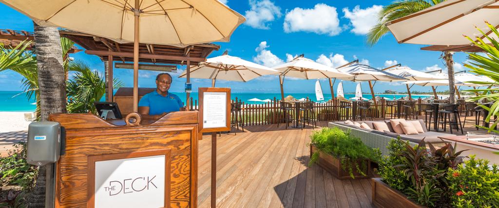 The Deck at Seven Stars Resort, Grace Bay Restaurants