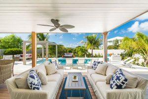 Second Chances Villa - Sunset Beach villas - Turks Caicos villa rental