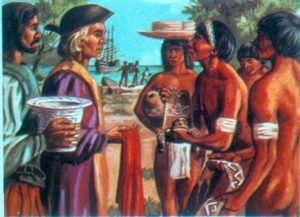 Columbus Turks and Caicos History