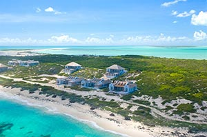 Ambergris cay Turks and Caicos Islands
