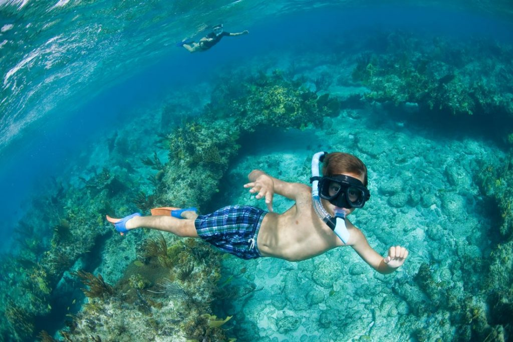 Snorkeling with Family and Friends in Turks and Caicos