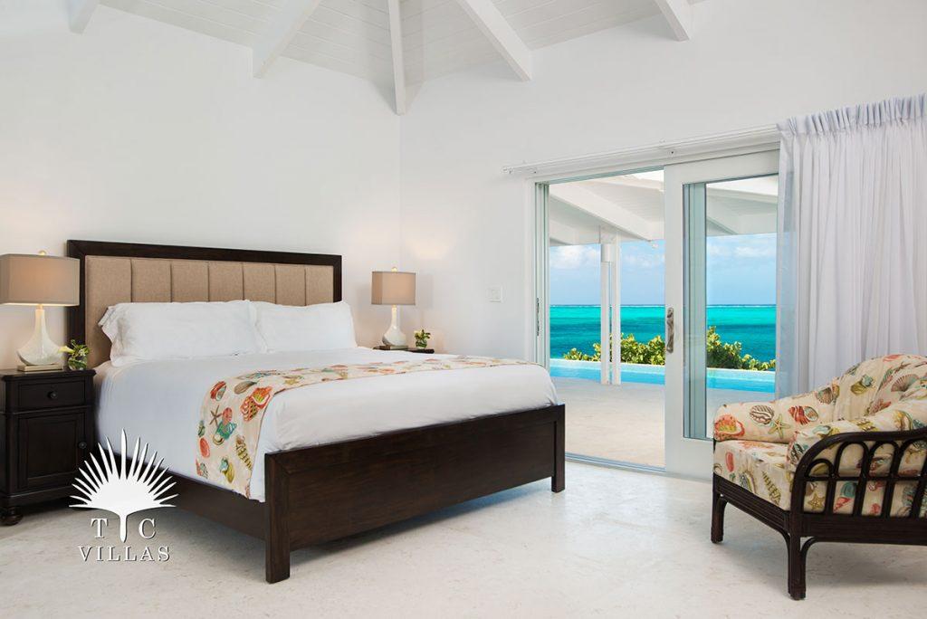 Bedroom - Sandstone, Grace Bay Beach, Luxury Villa