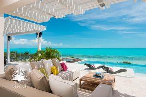 Porch - Villa Isla Luxury vacation Villa Rentals Turks and Caicos
