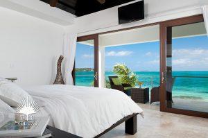 Beroom View : Water Edge Villa - Turks & Caicos villa rentals