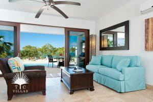 Living Room : Water Edge Villa - Turks & Caicos villa rentals