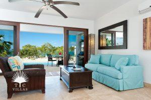 Living Room : Sea Edge Villa - Turks and Caicos Vacation rentals