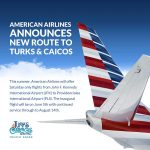 Jfk to PLS new airline to turks and caicos