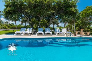 Pool Reef Pearl Turks and Caicos beach house rental