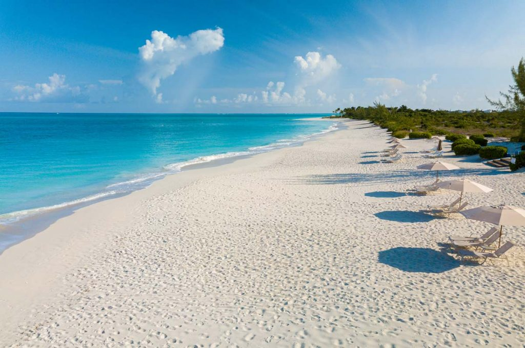 Famous Grace Bay Beach