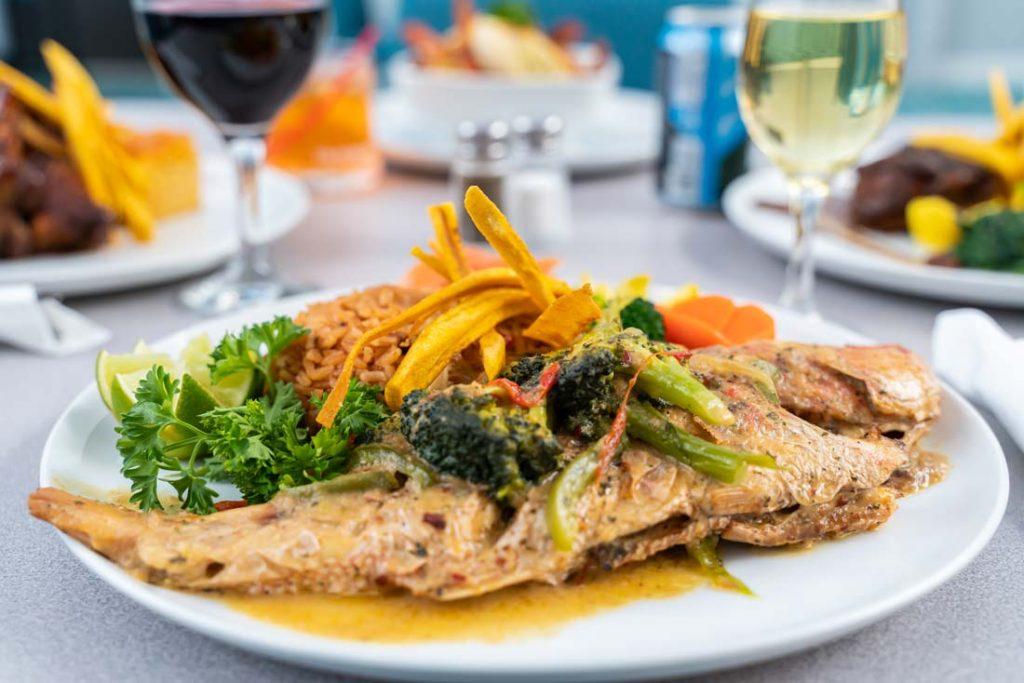 Local Cuisine - Turks Caicos Islands