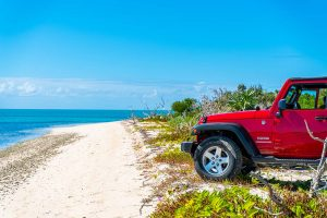 Explore Turks and Caicos Islands by car rental