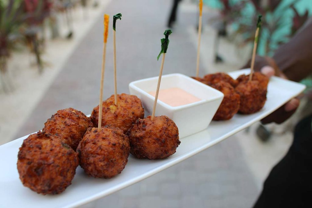 Conch Fritters Turks and Caicos