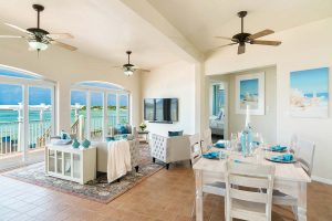 Living Room French Cat Villa Rentals Turks and Caicos