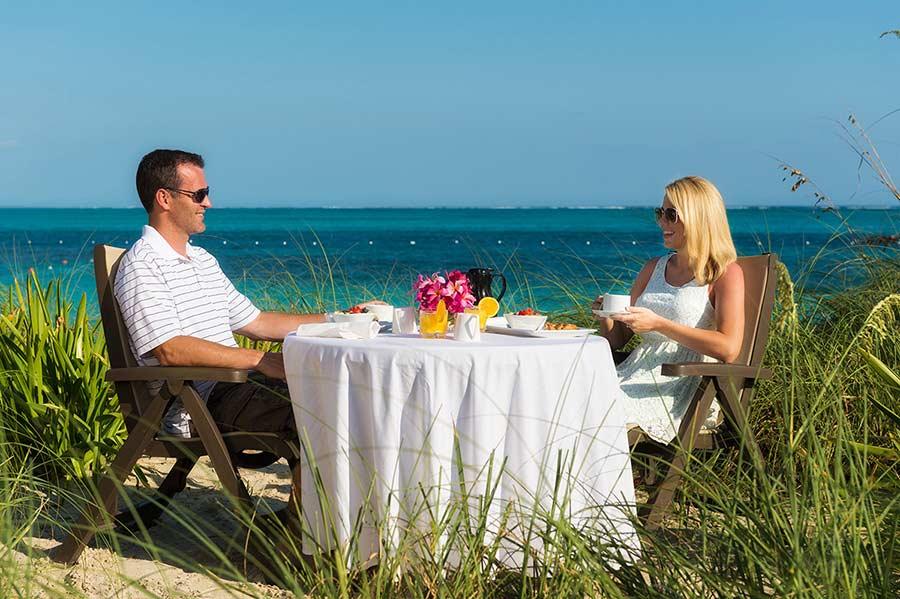 Dune Restaurant - Windsong resort - Turks and Caicos