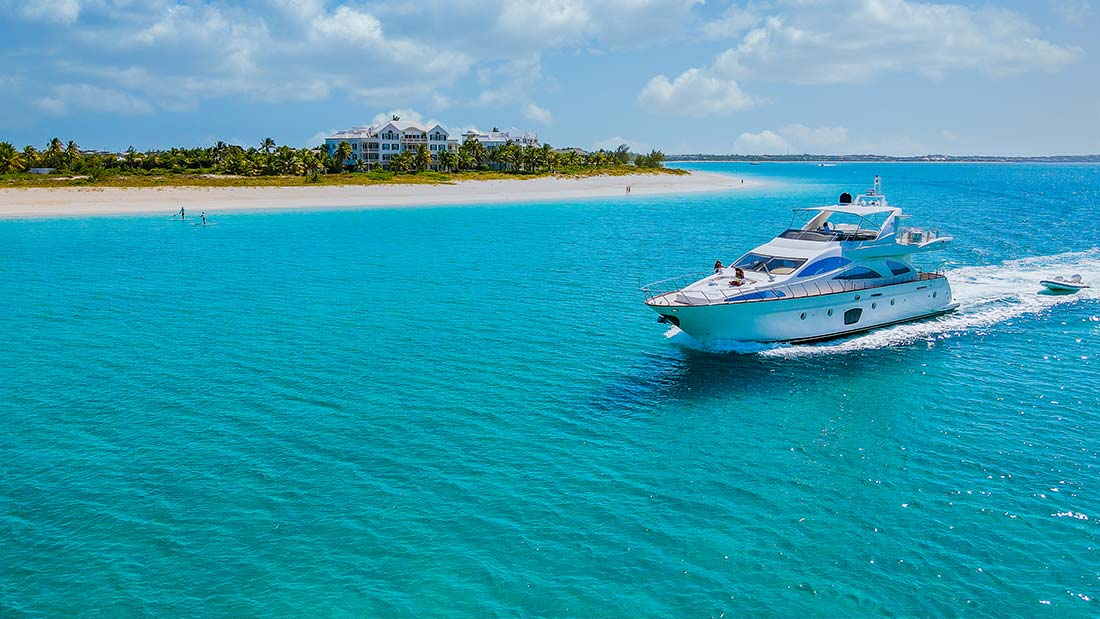 Luxury Yacht - Providenciales