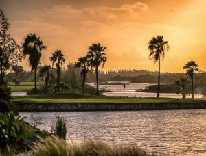 sunrise at Golf Course - Turks and Caicos
