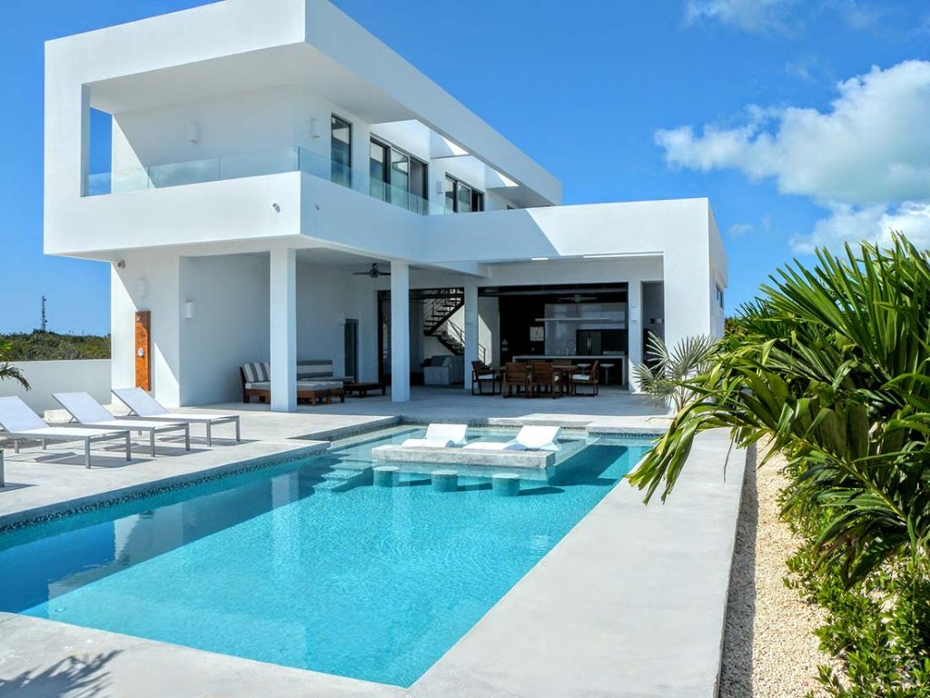 White Villas Turks and Caicos Accommodation, Luxury Villas
